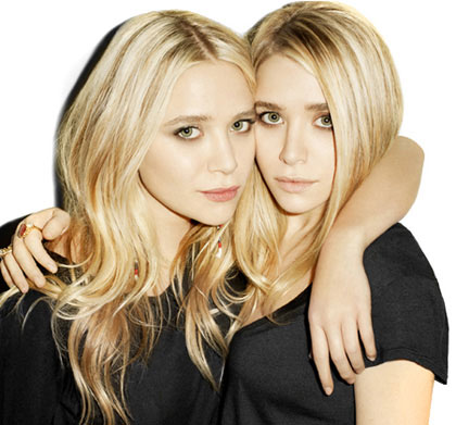 Mary Kate and Ashley Olsen design an exclusive t-shirt collection for StyleMint. Photo courtesy StyleMint.