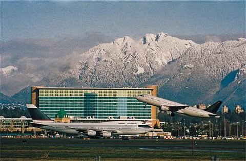Fairmont Vancouver Airport.