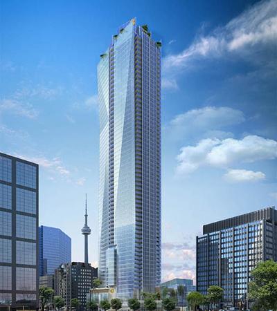 The projected Shangri-La Toronto.