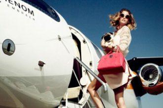 Woman-plane-dog-thumb