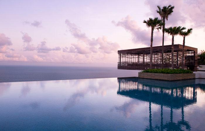 The Alila Villas Uluwatu, Bali.