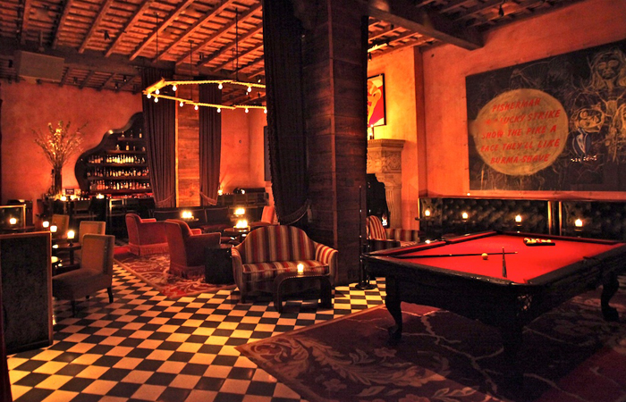 Bar And Billiard Room Reservation