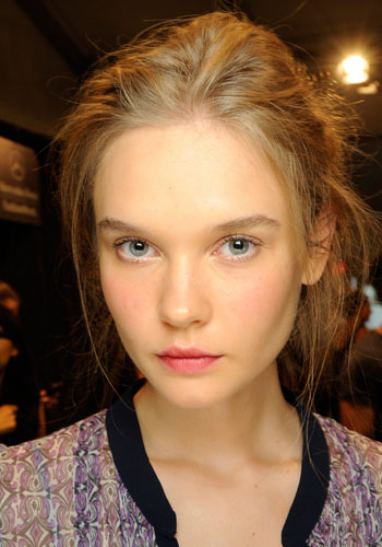 A fresh look by Maybelline New York from Rachel Zoe's Spring/Summer 2014 collection.