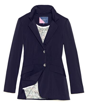 Bonneville blazer by Trout Rainwear.