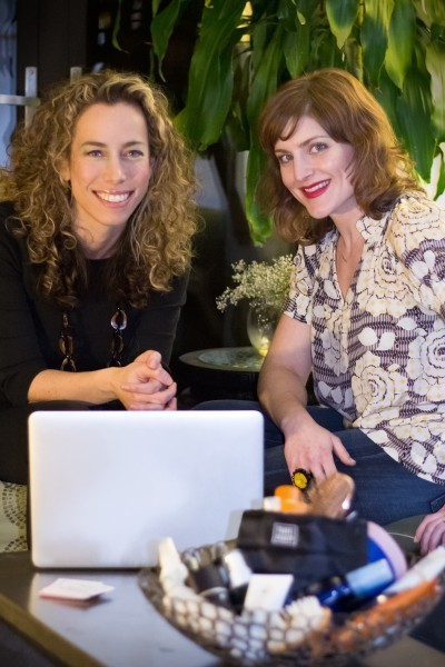 Alyssa Barrie Weiss and Claire McCormack, founders of TravelBeauty.com.