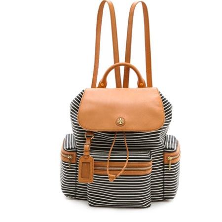 tory burch striped bag