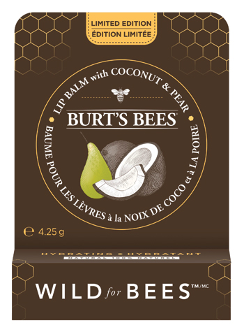 Burt's Bees Limited Edition Hydrating Lip Balm with Coconut & Pear.