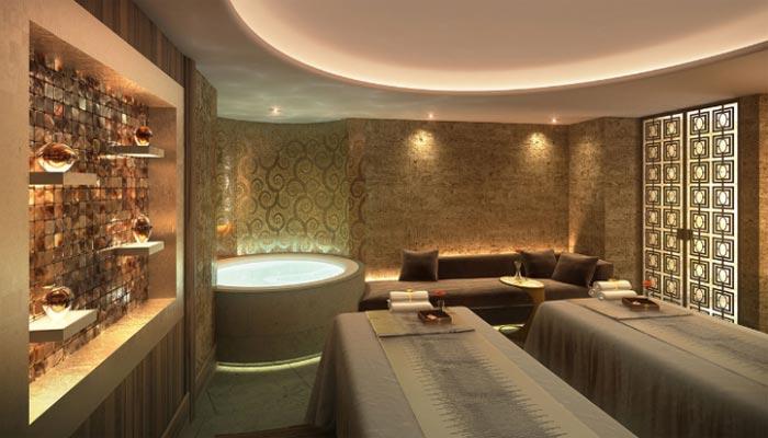 The luxe spa at the Park Hyatt, Vienna.