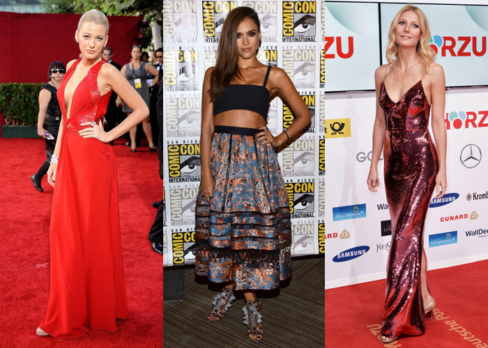Blake Lively, Jessica Alba and Gwyneth Paltrow all know how to carry themselves on the red carpet.