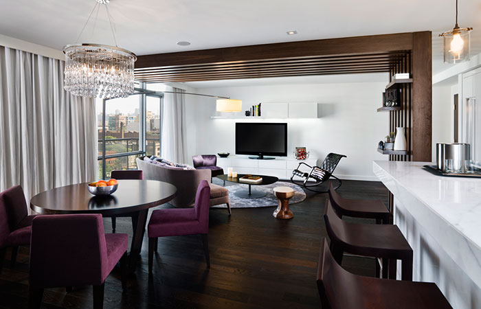 The Thompson suite at the Thompson Toronto.