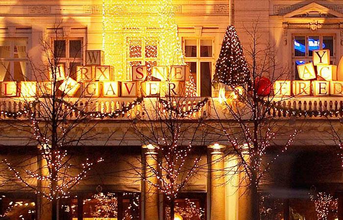 Copenhagen's Christmas market at Tivoli Gardens.
