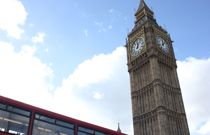 Capturing Big Ben in England is a must!