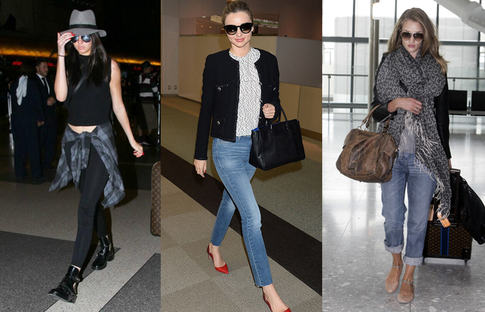 Chic Celebrity Airport Looks to Inspire Your Own Travel Style