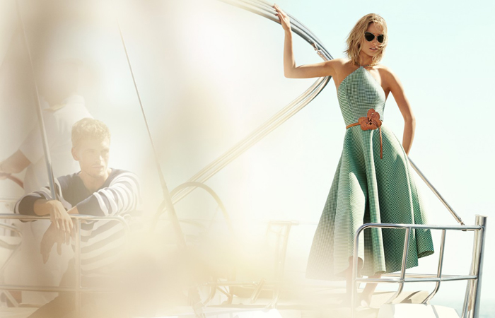 Image courtesy Michael Kors Spring 2015 campaign.