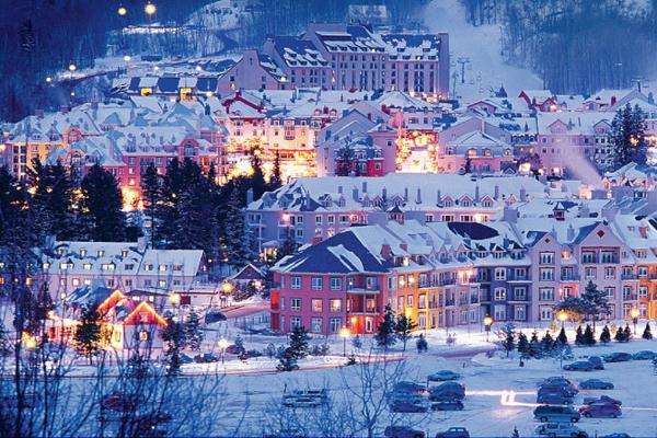 Mont Tremblant village.