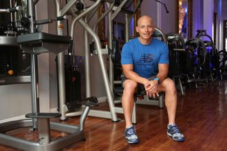 Harley Pasternak shares his top 5 healthy travel tips with Travel & Style. Photo courtesy of New Balance