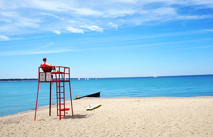 Picture-perfect at the beach in Sarnia. Photo by Natalie Preddie Zamojc