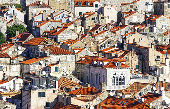 Dubrovnik is gorgeous from any angle.