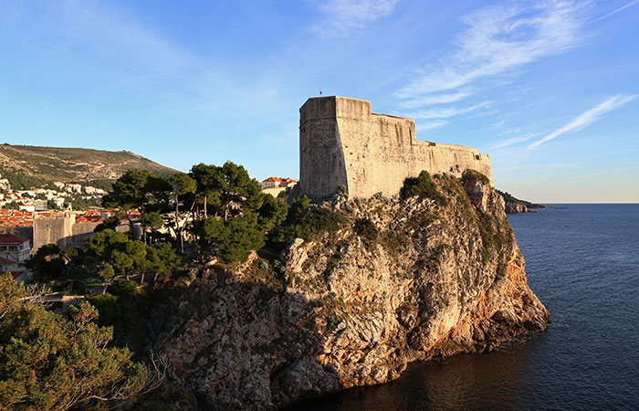 Fortresses abound in this Croatian city.