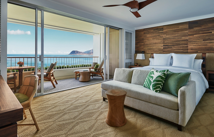 Four Seasons Oahu Oceanfront Room