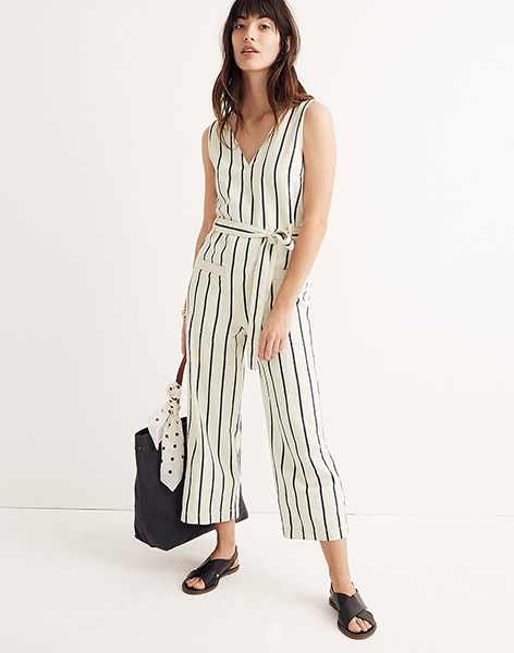 d240b48a7ce4 The stripes on this makes it casual enough for day time (especially when  paired with a cute pair of rose-coloured runners)