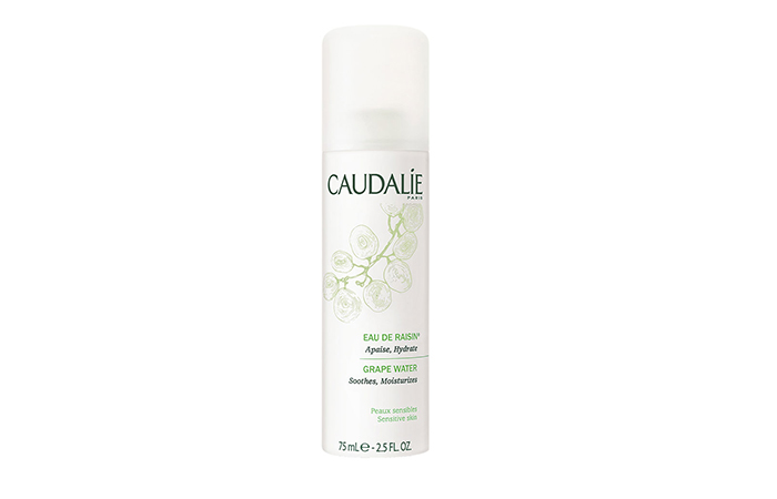 travel beauty: Caudalie's Grape water