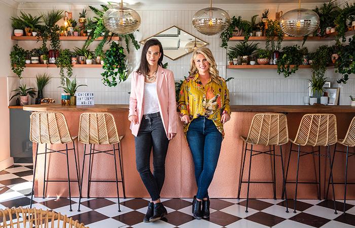 The June Motel's April Brown and Sarah Sklash