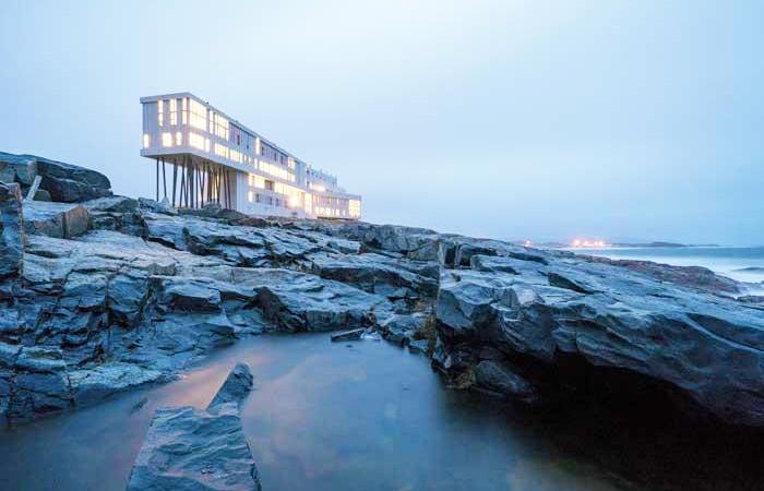 Iconic Canadian Hotels: Fogo Island