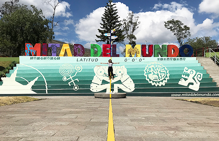 Quito: The middle of the world