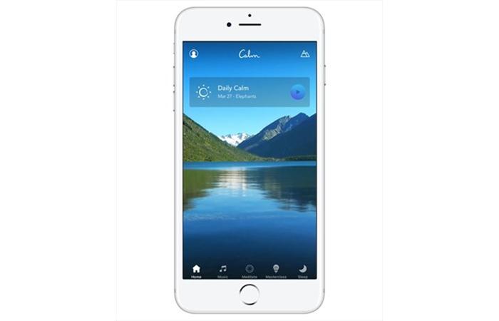 Jet lag: Calm app, free trial.