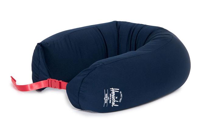 Herschel micro bead neck pillow, $29.