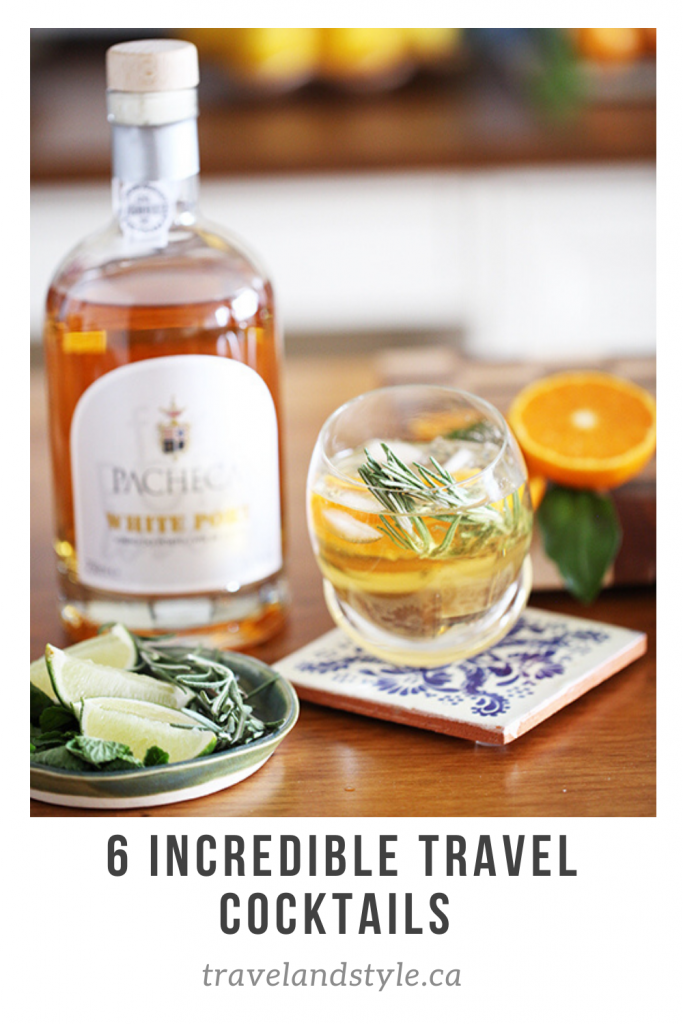 6 Incredible Travel Cocktails
