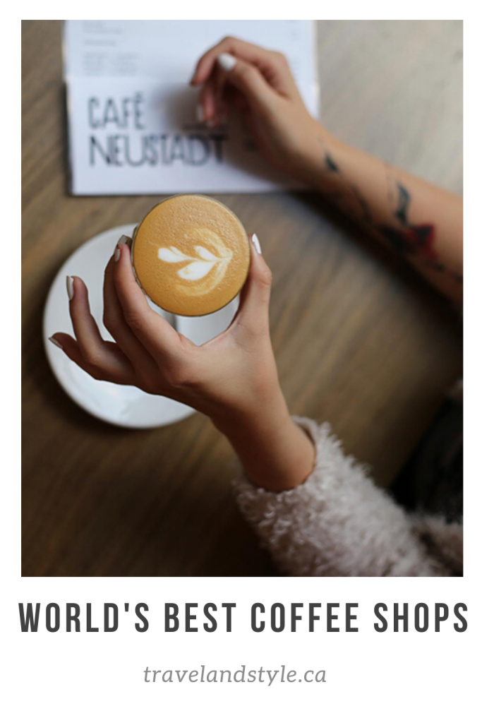 world's best coffee shops and cafes