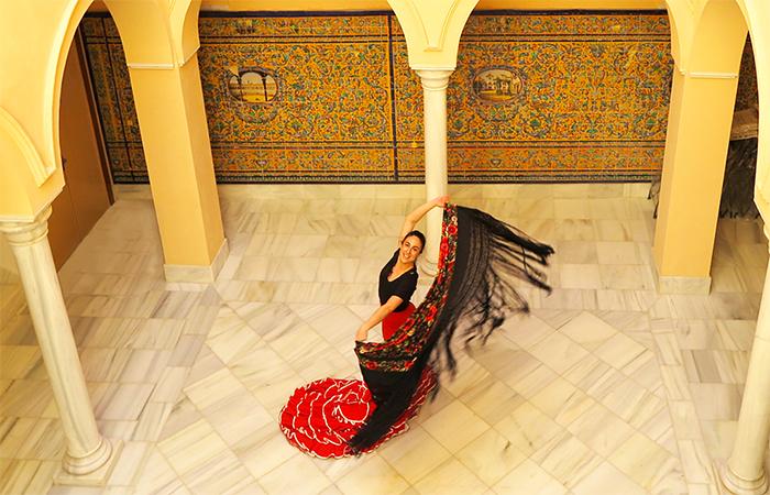 Traditional dances: The flamenco