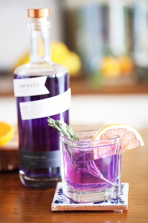 Travel cocktails: Empress Gin and Tonic