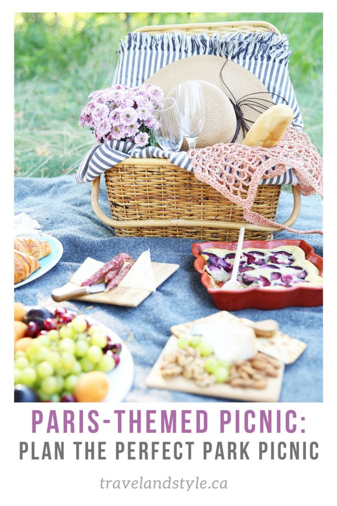 How to plan a French-themed park picnic