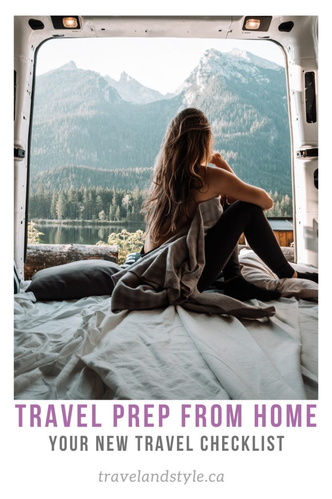Travel Prep From Home: How To Create A Covid-Travel Checklist