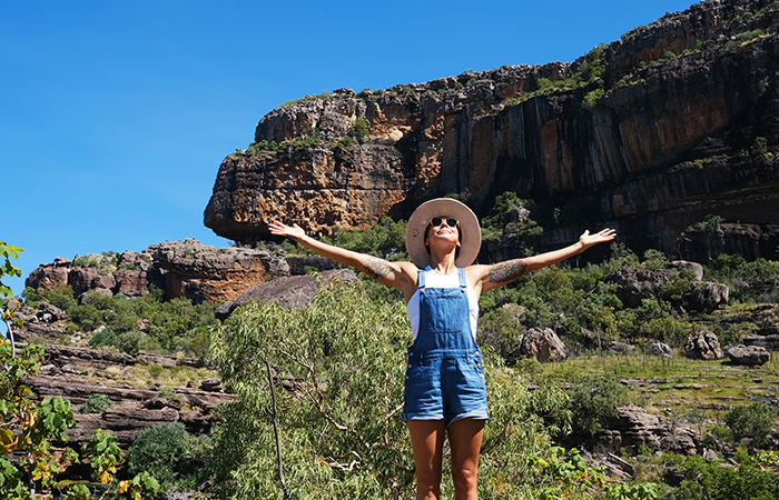 Women in Travel: Sarain Fox filming in Australia. All photos courtesy of Sarain Fox/TreadRight.